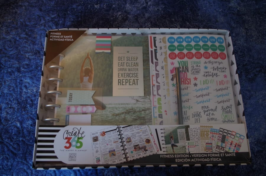 The Happy Planner Fitness Box Review