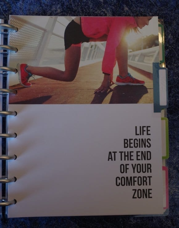 Fitness Happy Planner: Monthly Dividers