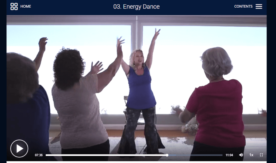 energy dance in energy medicine