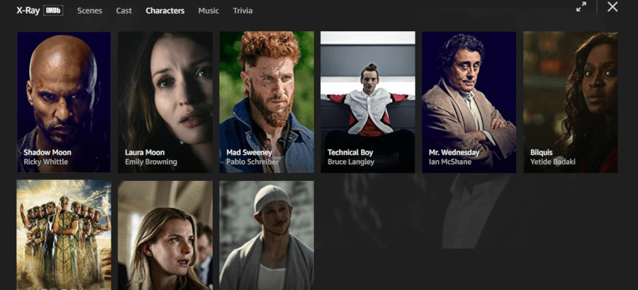 characters Amazon Prime Video Clip